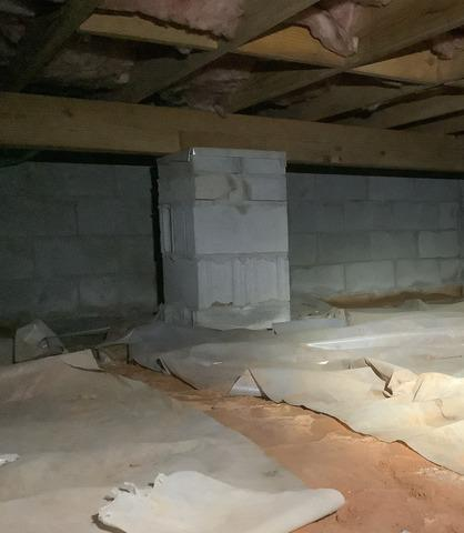 Crawlspace Encapsulation in Warner Robins, GA