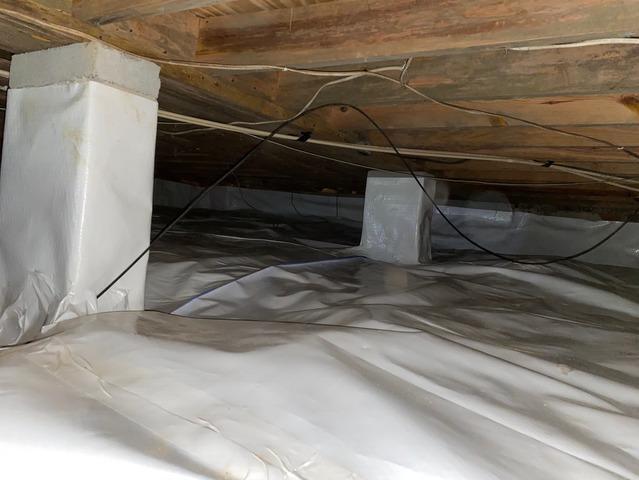 Sagging Crawl Space in Butler, GA