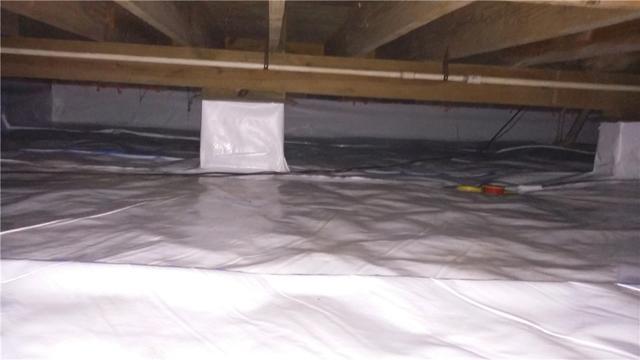 Crawl Space Encapsulated in Rincon GA