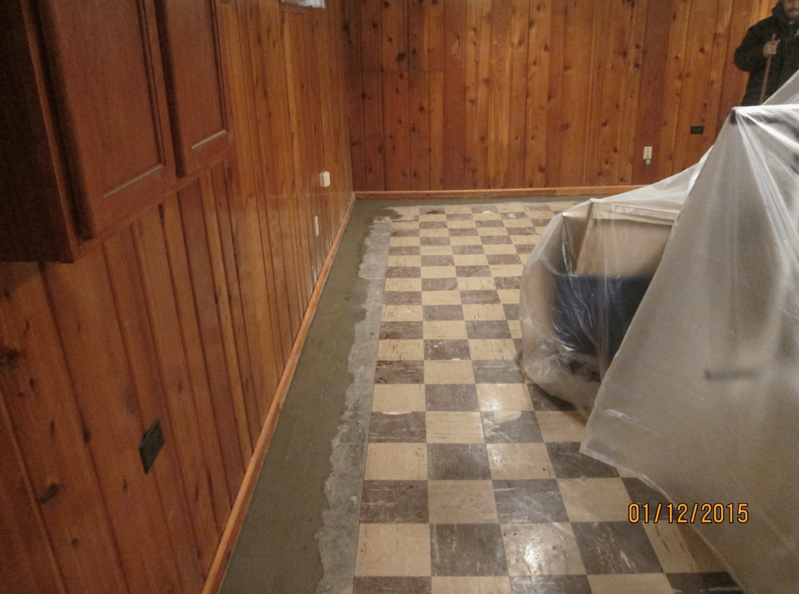 Basement Water Problem in Walls and Trim in Duluth, MN - After Photo