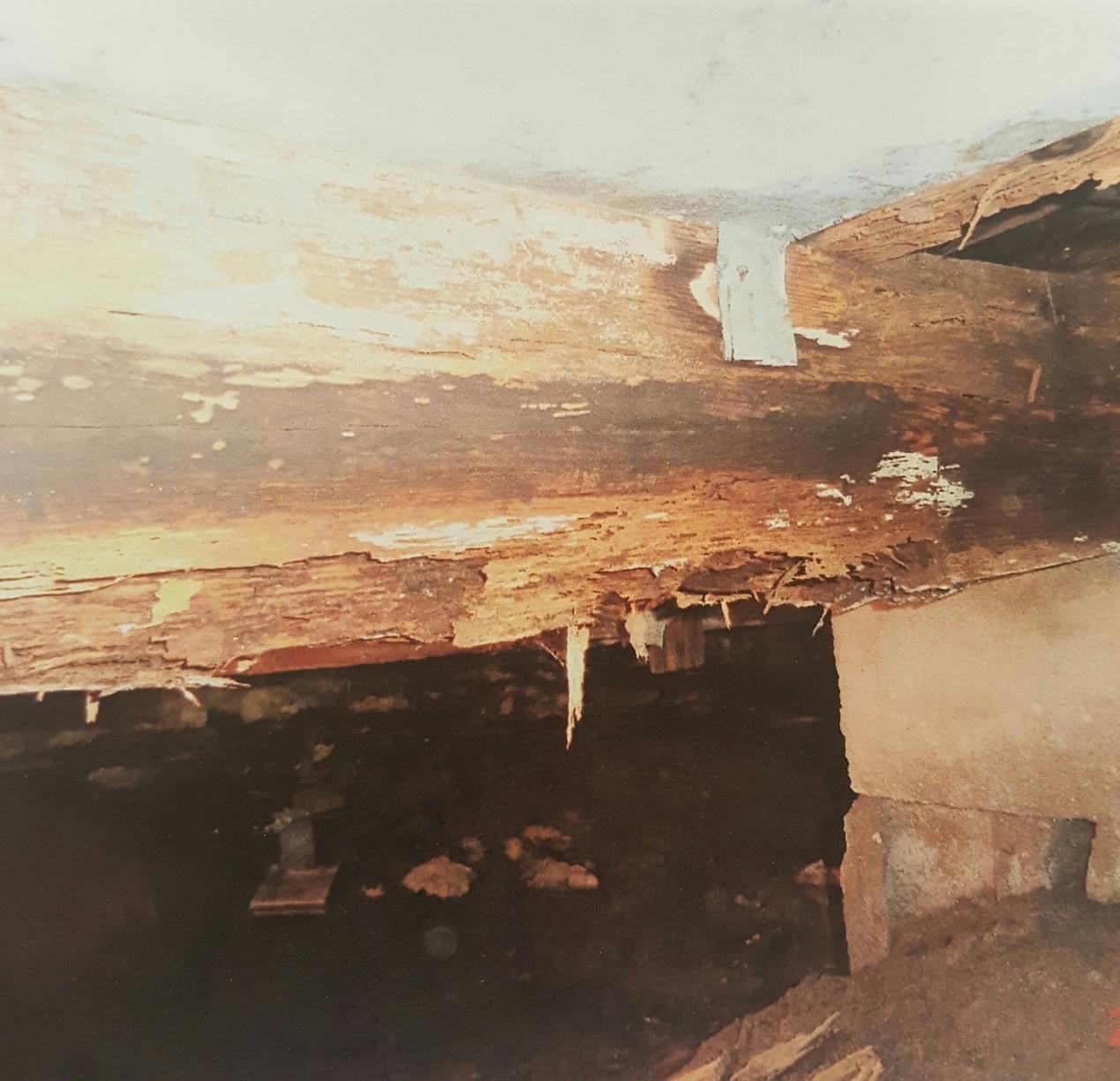 Foundation Repair in Elkhart, IN - Before Photo