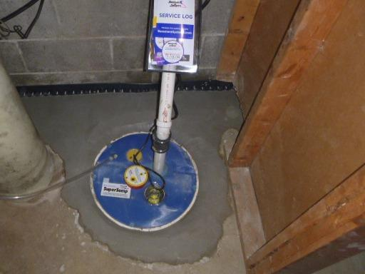Sump Pump Upgrade in Rolling Prairie - After Photo