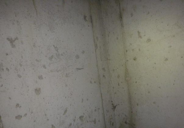 Rochester, Indiana Epoxy Crack Injection - Before Photo
