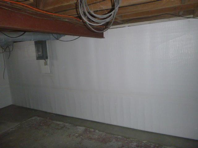 Musty Basement Needs Makeover in Culver, Indiana