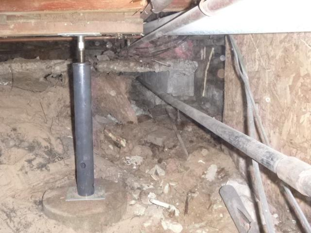 Undermined Beverly Shores Crawlspace
