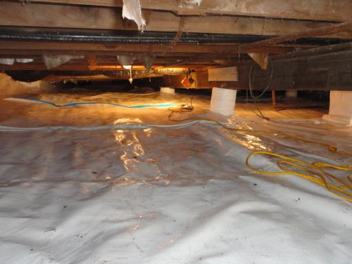 Cedar Lake Crawlspace