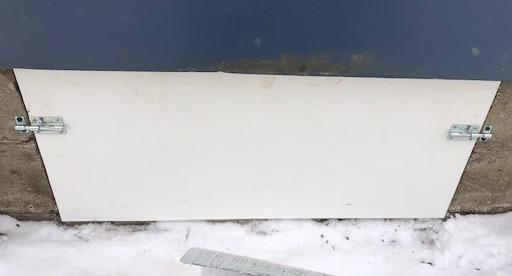 Romeo, Michigan Crawlspace Entryway