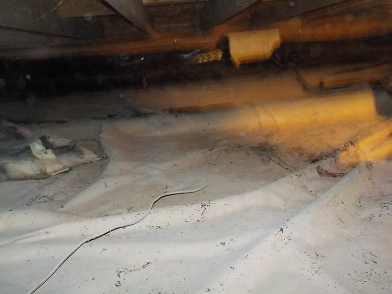 Crawl Space Encapsulation In Lowbanks, ON - Before Photo