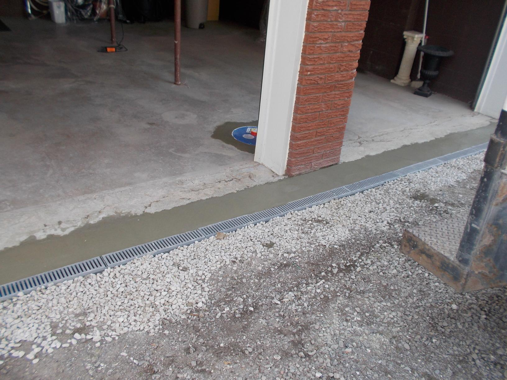 Trench Drain in Port Colborne - After Photo