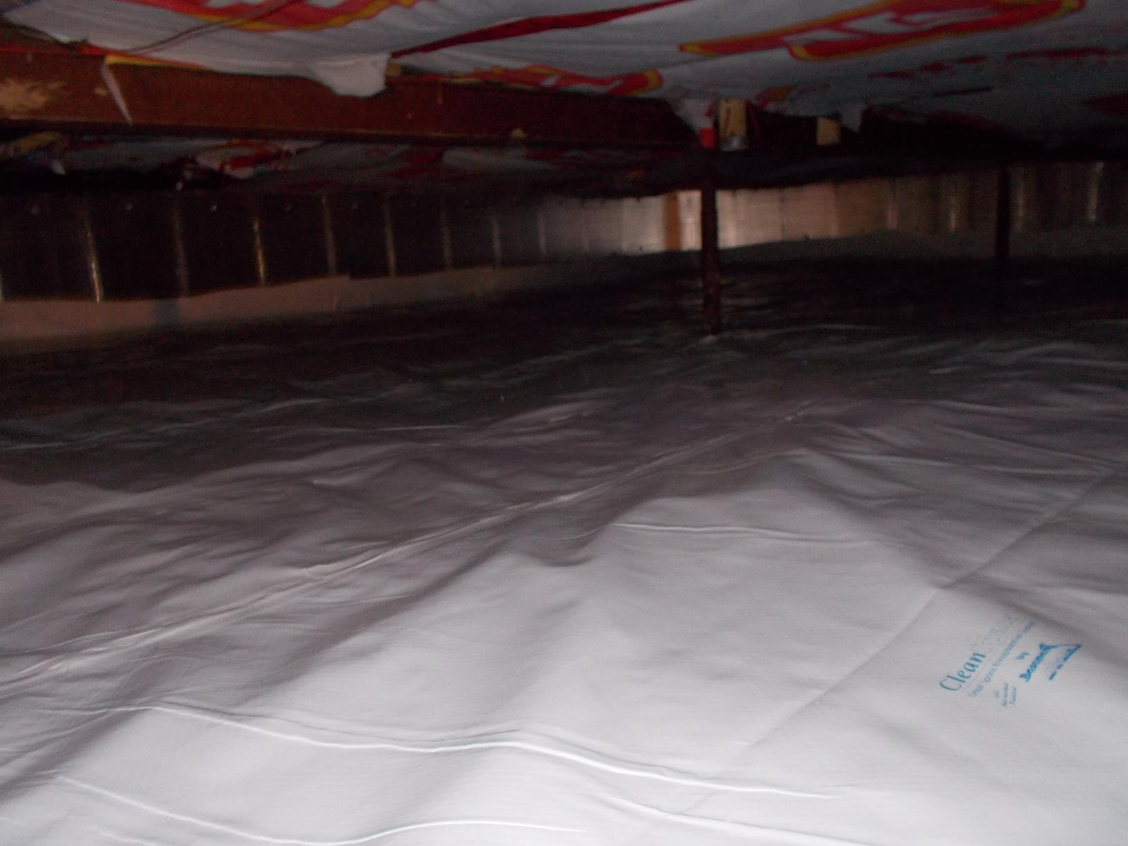 Damp Crawlspace Overhaul in Delhi - After Photo