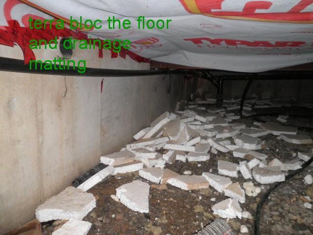 Damp Crawlspace Overhaul in Delhi - Before Photo