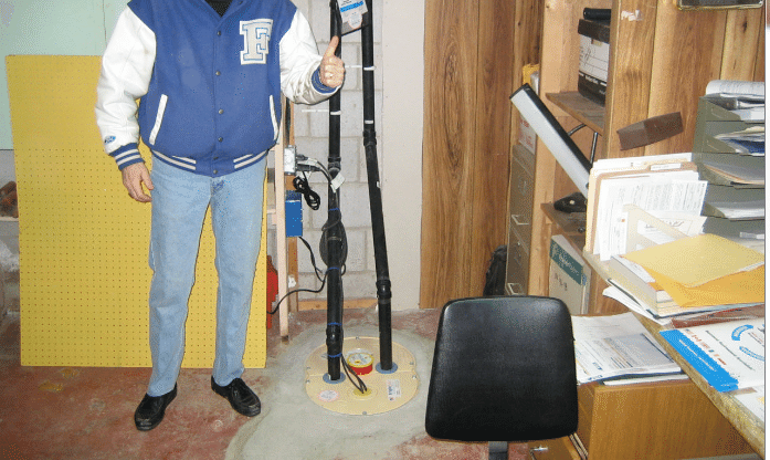 Our King and Queens of Sump Pumps - After Photo