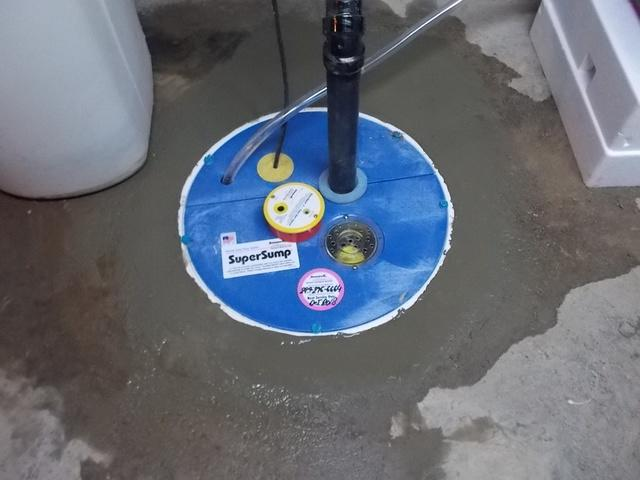 Amazing New SuperSump Sump Pump in Guelph Ontario