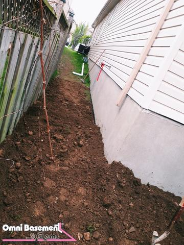 Foundation Wall Crack Repair in Lynden, ON