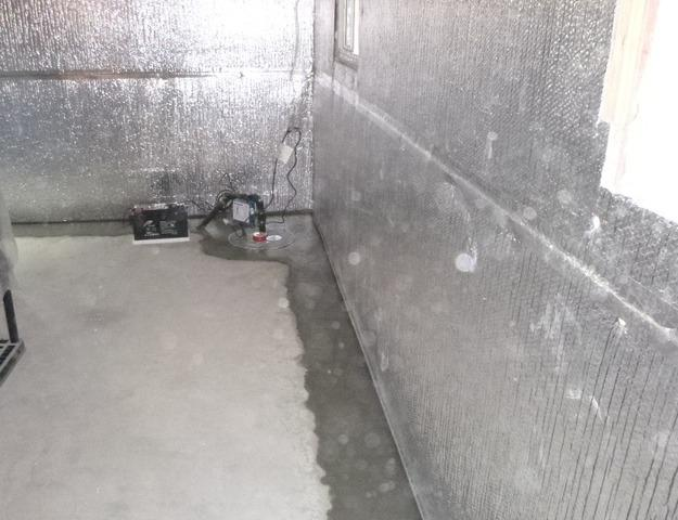 Waterproofing and Sump upgrade in Kitchener