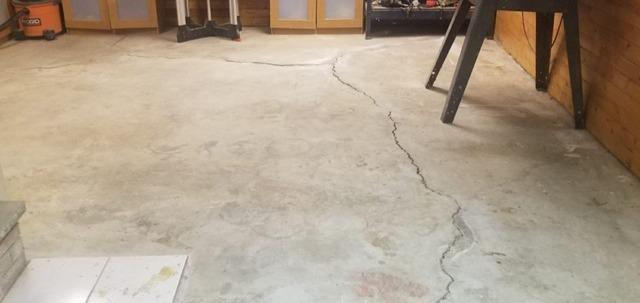 Floor Slab replacement in Fisherville