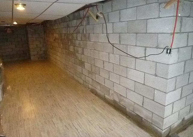 Waterproofing including flooring in Dundas