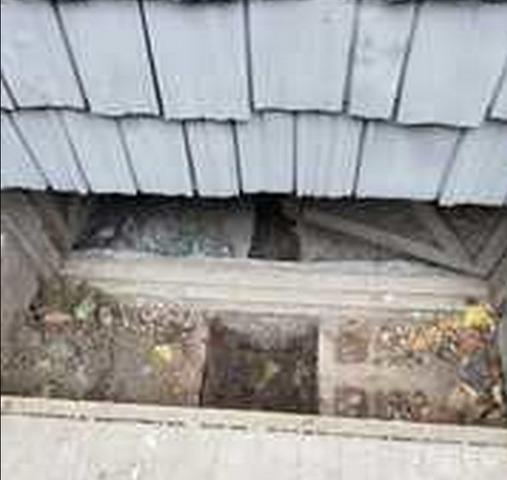 Crawlspace entrance door in Port Rowan, ON