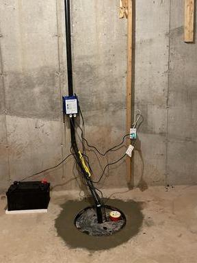 Sump Upgrade in Burlington, ON
