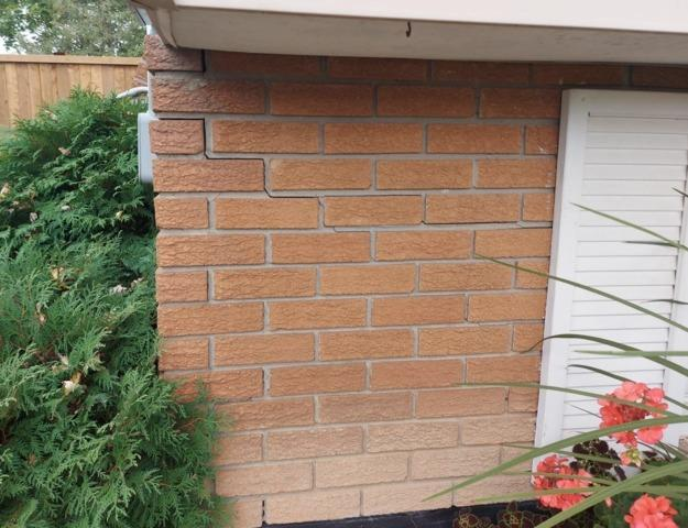 Raising a settling foundation in Caledonia, ON