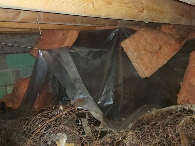 Repaired Crawlspace in Hamilton, ON