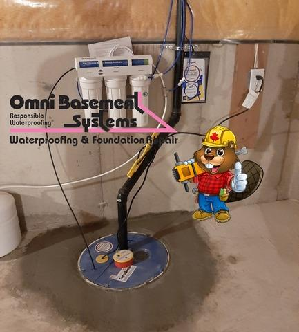 Sump replacement in Milton, ON