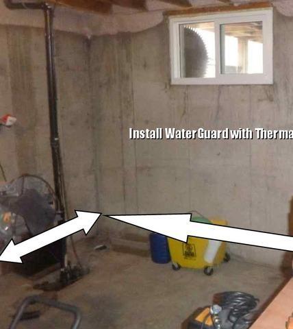 Interior Waterproofing in Scotland, ON