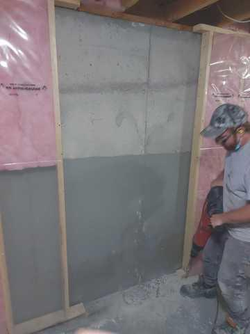 Wall Crack repair in Hamilton, ON