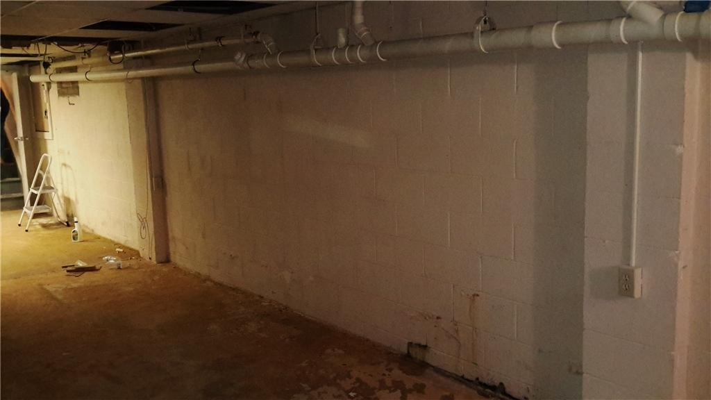 New Walls Transform this Basement in Jackson, NJ - Before Photo