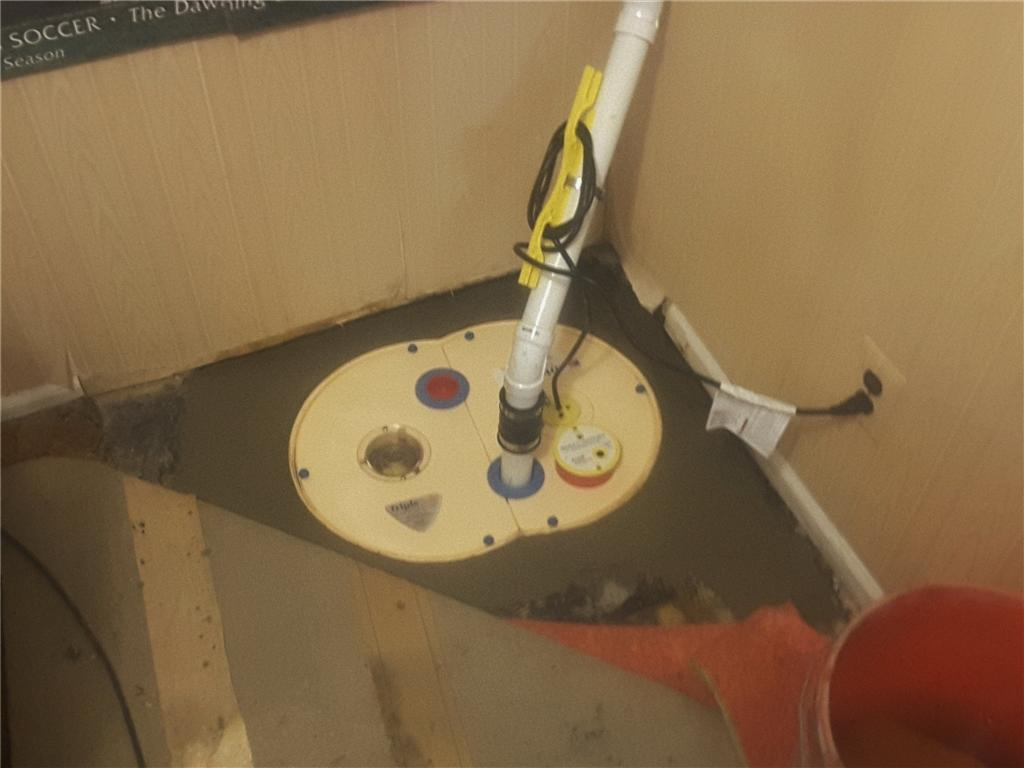 Sump Pump Replacement in Mt. Laurel, NJ - After Photo
