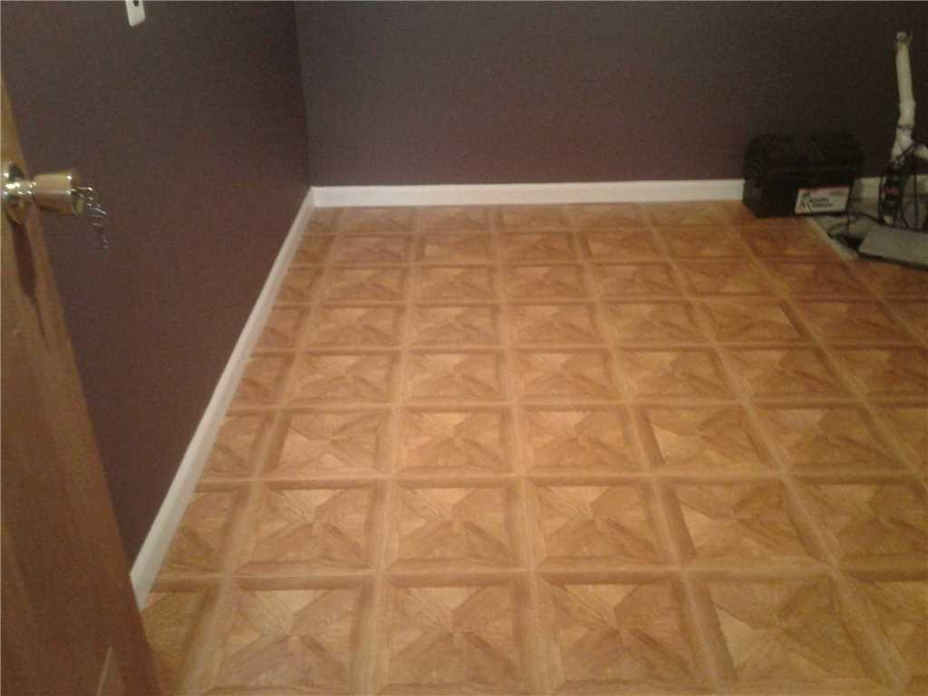Basement Flooring Installation in Hamilton, NJ - After Photo