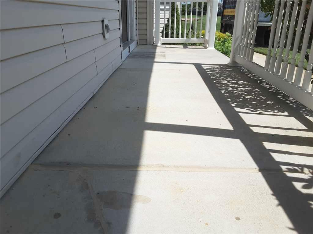 Sunken Front Porch Leveled in Woolwich Twp - After Photo