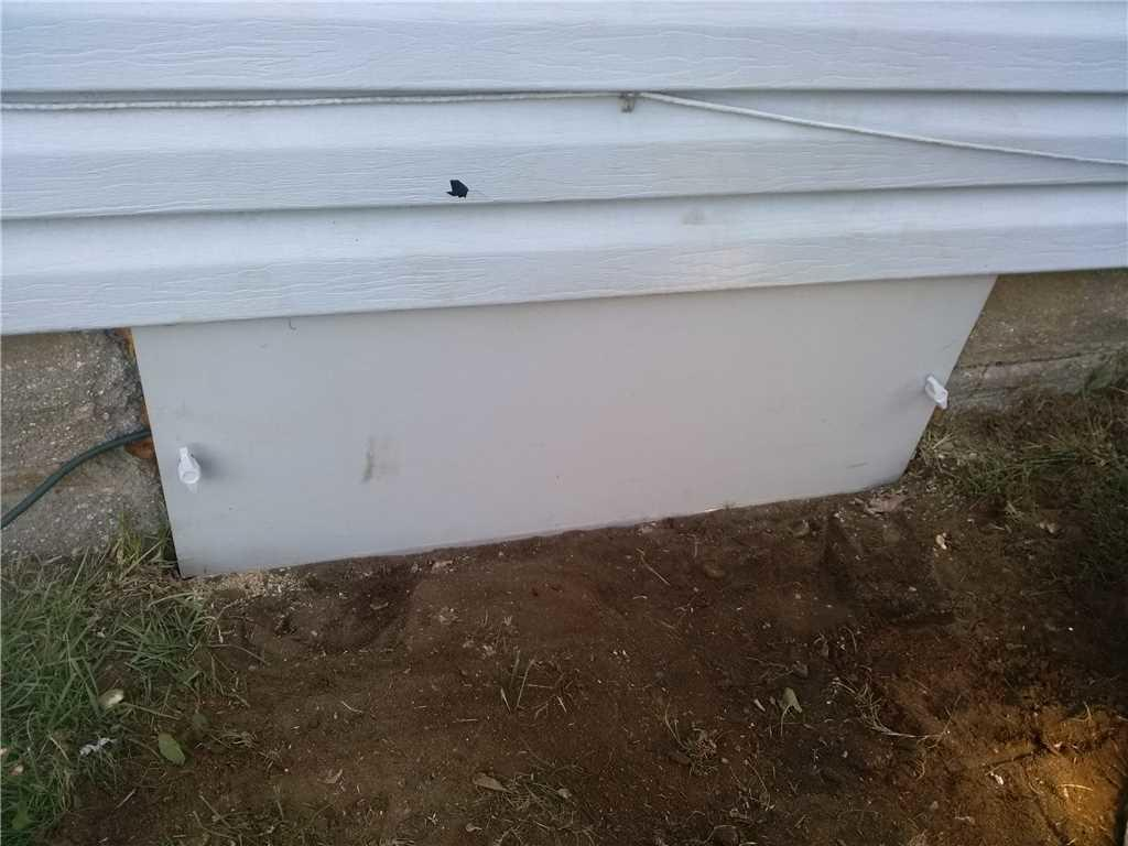 Vent Covering to Crawlspace in New Egypt, NJ - After Photo