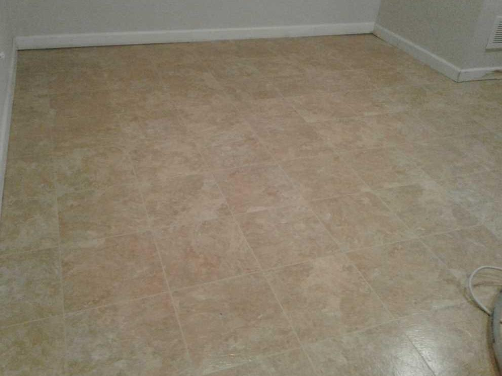 New Basement Flooring Installed in Cinnaminson, NJ - After Photo