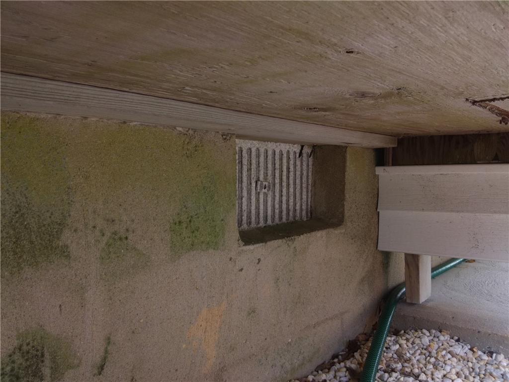 Flood Vents Installed in Ocean Gate, NJ - Before Photo