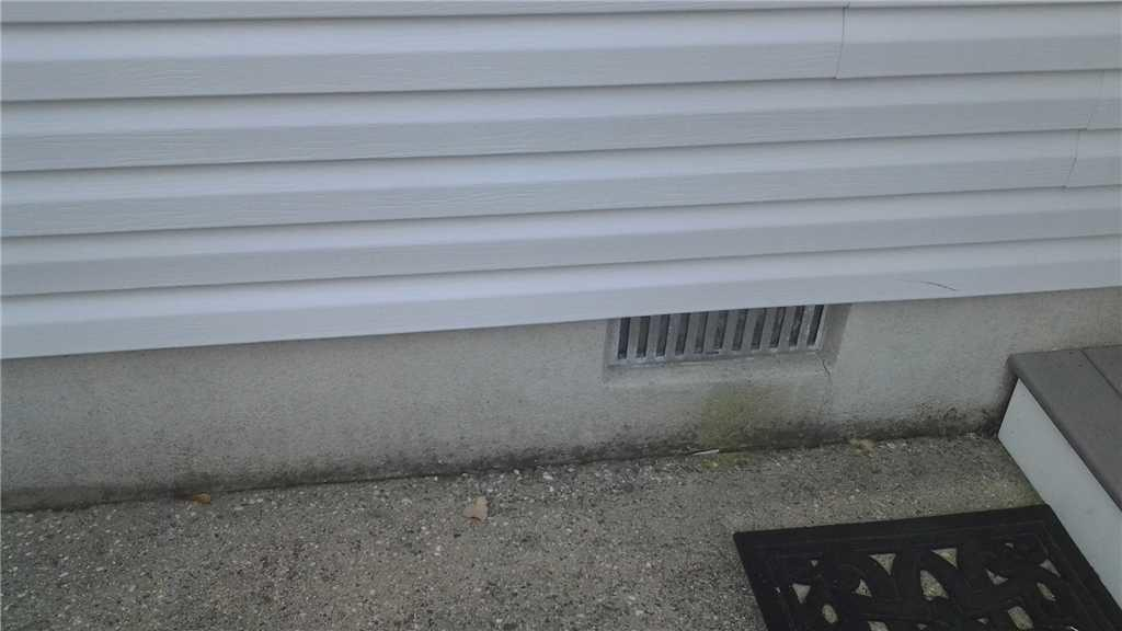 Crawl Space Vent Covers in Ocean County, NJ - Before Photo