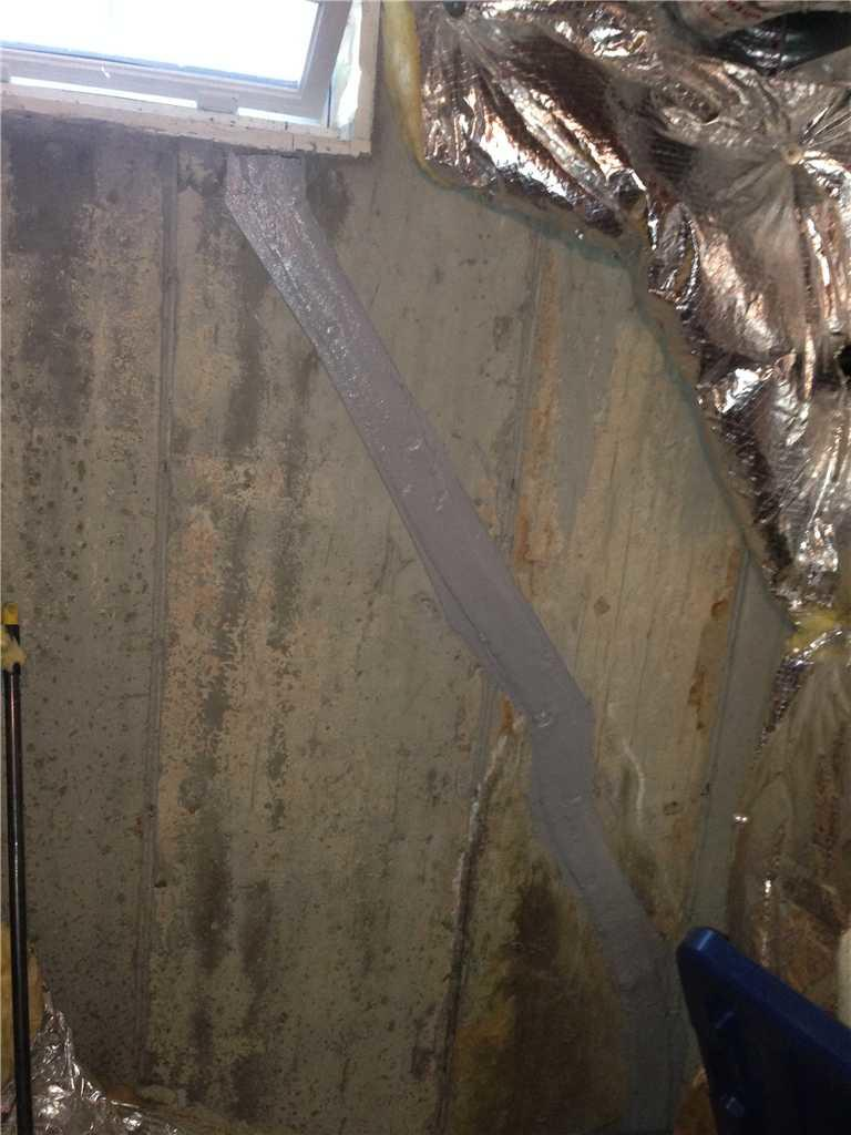 Sealed Wall Crack in Mount Holly, NJ - After Photo
