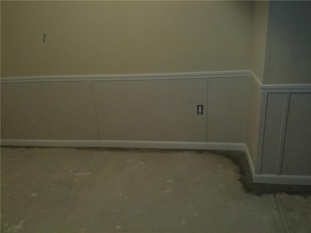 Basement Finishing Wall Replacement Keeps Absecon Home Dry - After Photo