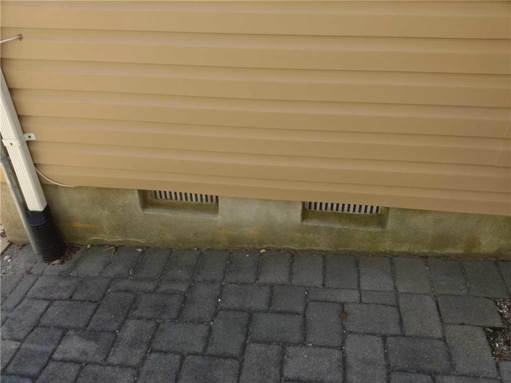 Smart Vent Flood Vent Installed in Seaside Heights, NJ - Before Photo