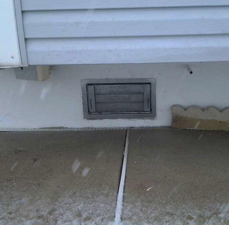 Flood Vents Installed in Toms River Crawl Space - After Photo