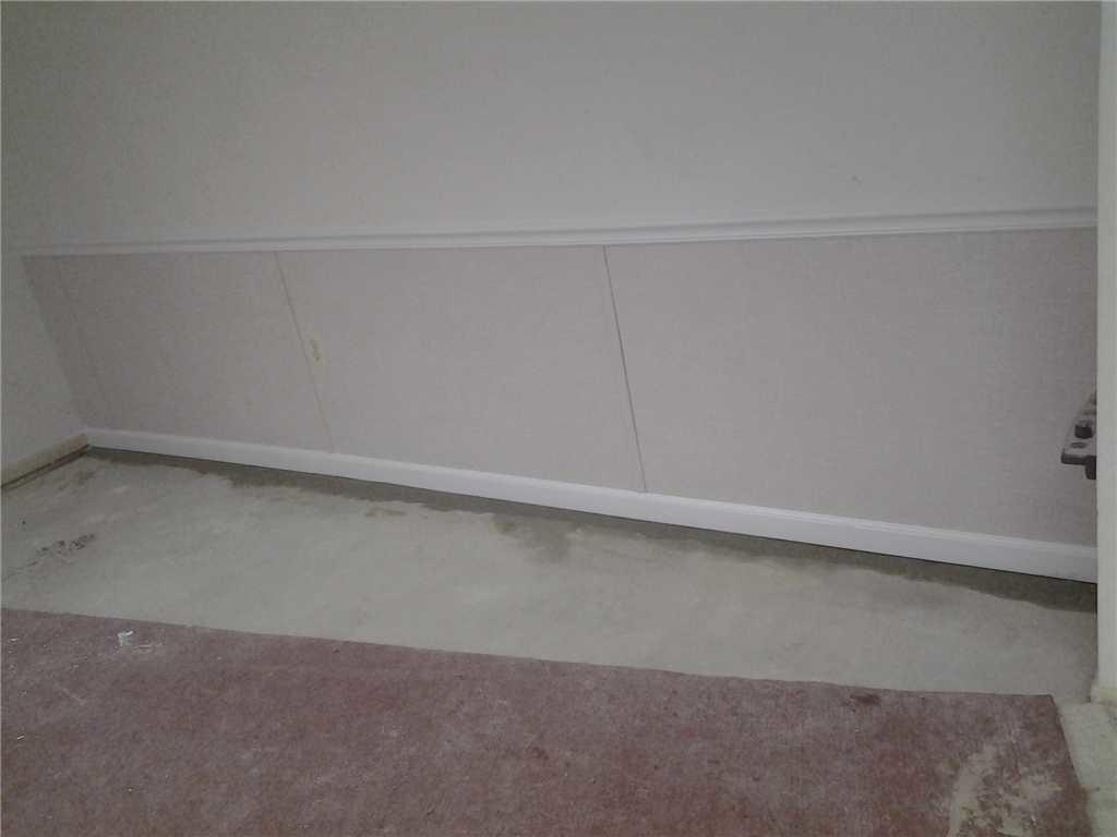 Basement Finishing Wall Design in Somerville, NJ - After Photo