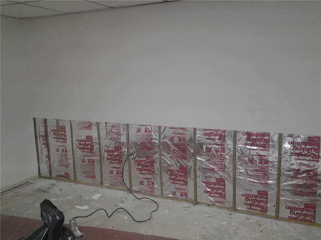 Basement Finishing Wall Design in Somerville, NJ - Before Photo