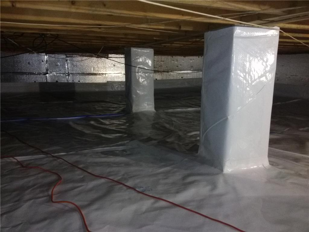 Moisture-Free Crawl Space in Cherry Hill, NJ - After Photo