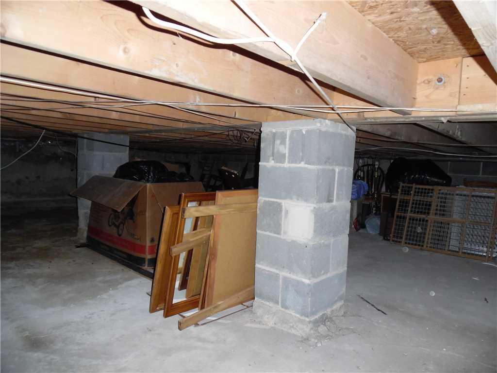 Moisture-Free Crawl Space in Cherry Hill, NJ - Before Photo