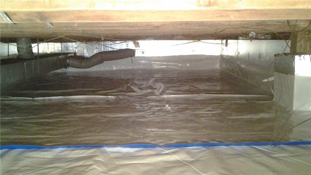 Mold Problem in Crawl Space Solved in Marlton, NJ! - After Photo