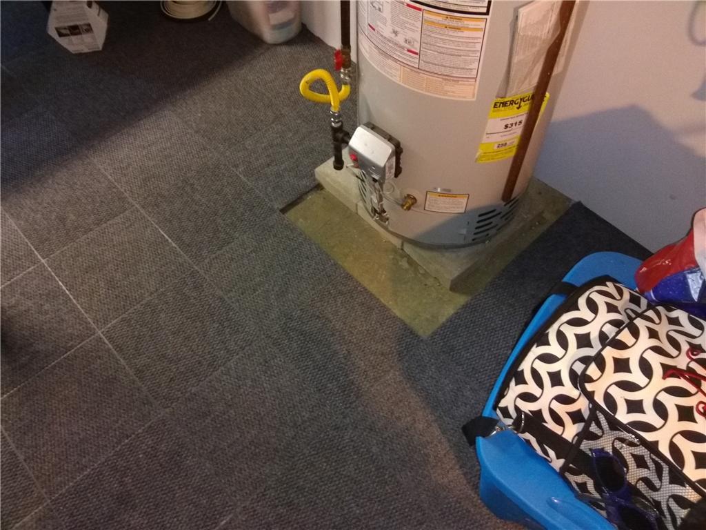Waterproof Basement Flooring Installed in Brielle, NJ - After Photo