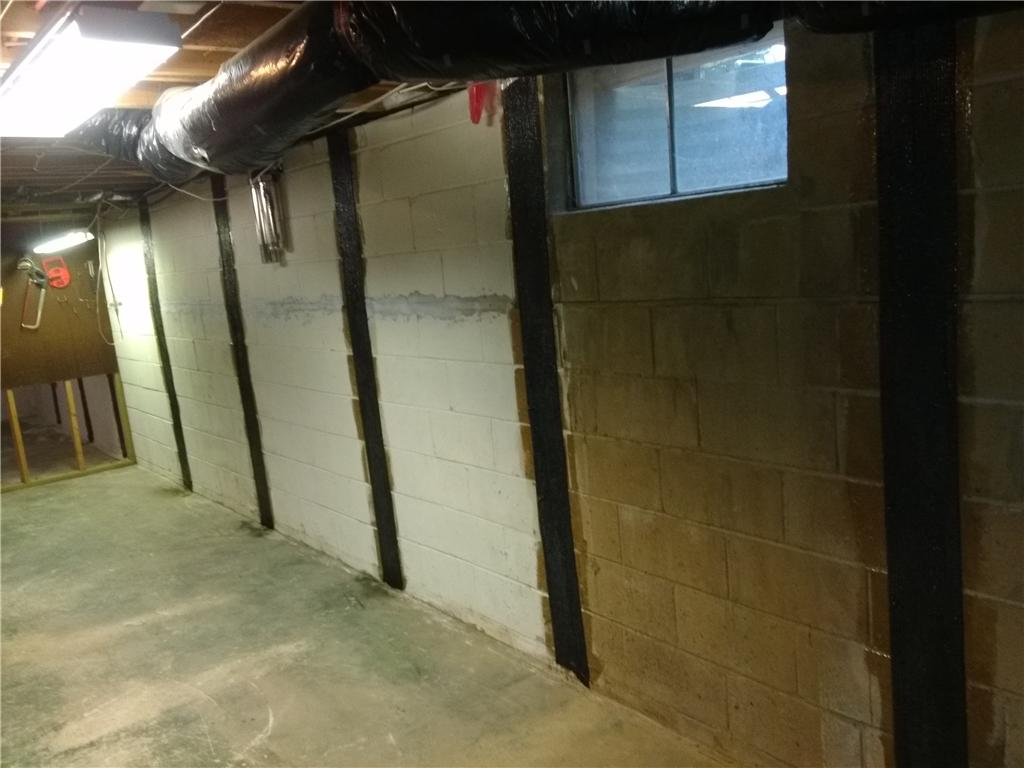 Bowing Walls Repaired in Willingboro, NJ - After Photo
