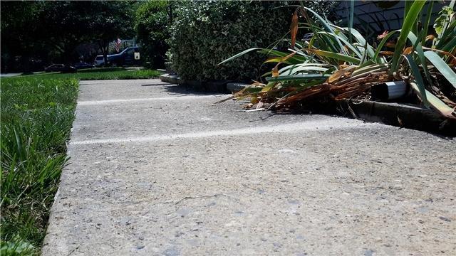Sinking Sidewalk is Raised in Bordentown, NJ
