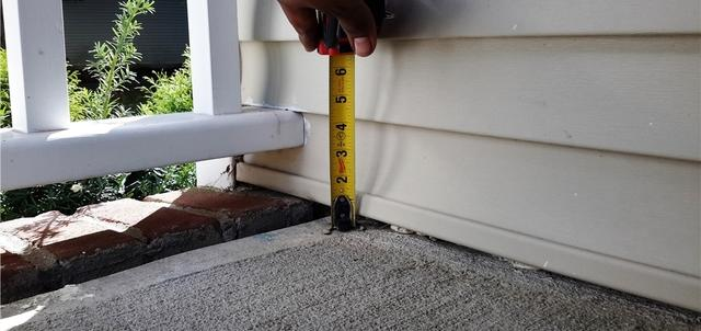 Raised Front Porch with PolyLevel in Plainsboro, NJ