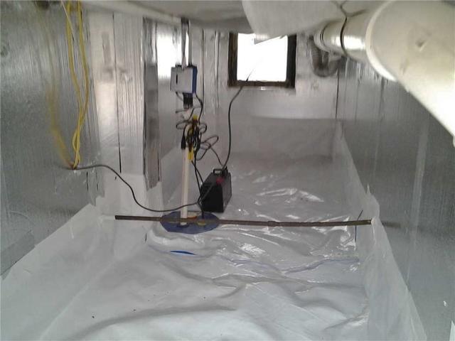 Crawl Space Encapsulation in Ridgefield Park, NJ